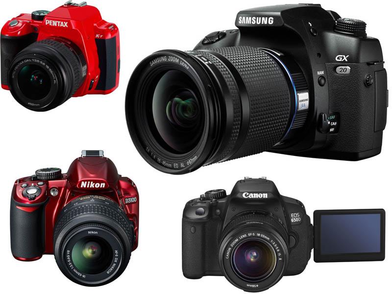 Neskolko zerkalok Как выбрать зеркальный фотоаппарат