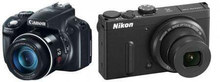 canon nikon 450x168 Два фотоаппарата на выбор Canon PowerShot SX50HS и Nikon Coolpix P330